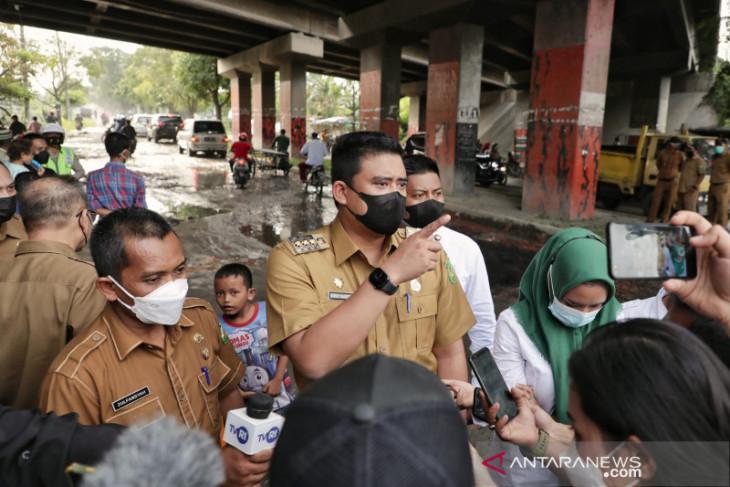 Pemkot Medan tenderkan perbaikan 1,1 km jalan Pancing