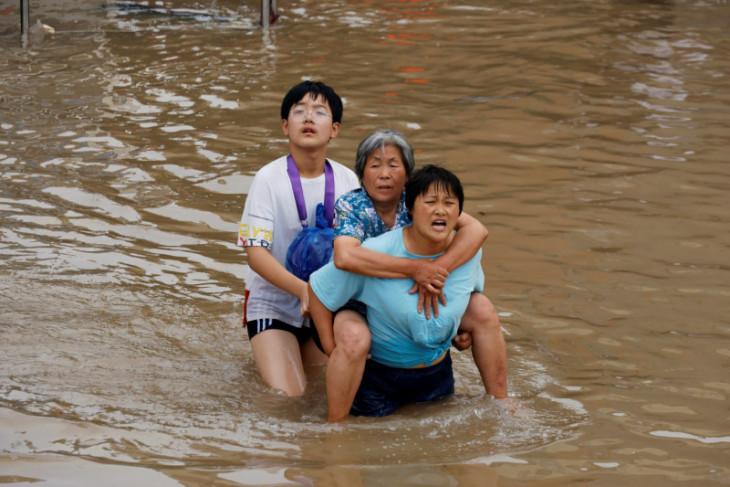 Jumlah korban tewas banjir Henan terus bertambah jadi 69 orang, lima hilang