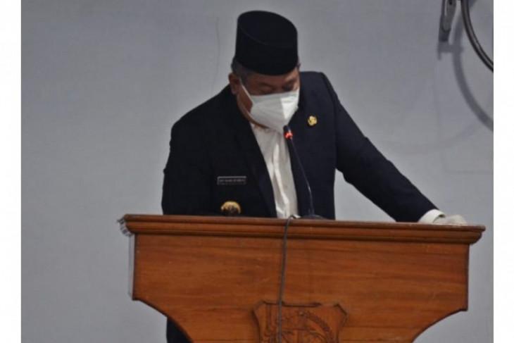 Bupati Dairi sampaikan nota jawaban Ranperda Pertanggungjawaban APBD 2020