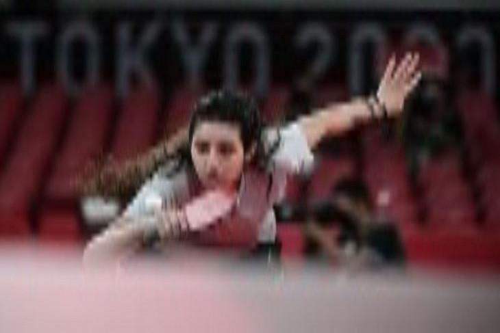 Langkah atlet tenis meja usia 12 tahun di Olimpiade Tokyo terhenti