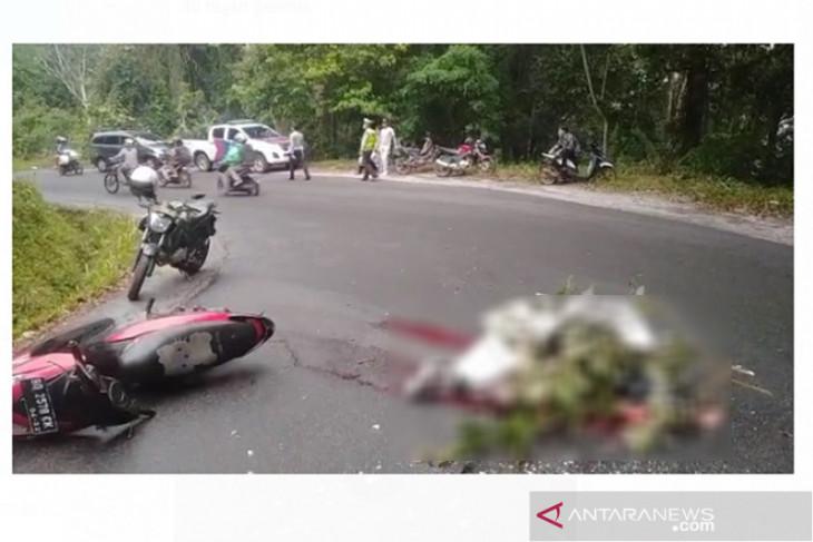 Lakalantas, pelajar Bengkulu tewas di lintas Taba Penanjung