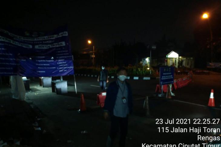Ombudsman Banten temukan Posko penyekatan kosong petugas pada PPKM di Tangsel