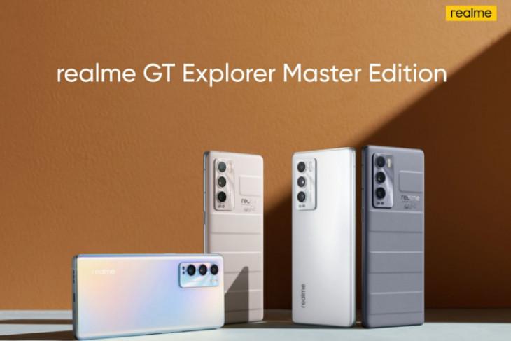 Ponsel flagship realme GT Master Edition diluncurkan di China