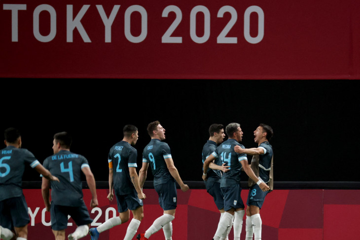 Olimpiade Tokyo, Argentina tekuk Mesir 1-0 di laga lanjutan Grup C