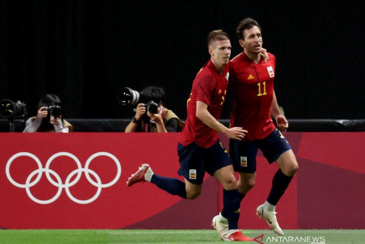 Olimpiade Tokyo, Spanyol atasi perlawanan Australia 1-0