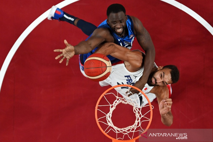 Olimpiade Tokyo, Amerika dipecundangi Prancis hari pertama basket putra