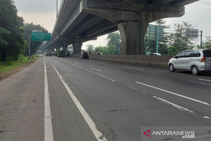 Ada pekerjaan perbaikan jalan Tol Japek, Jasa Marga siapkan mitigasi lalu lintas