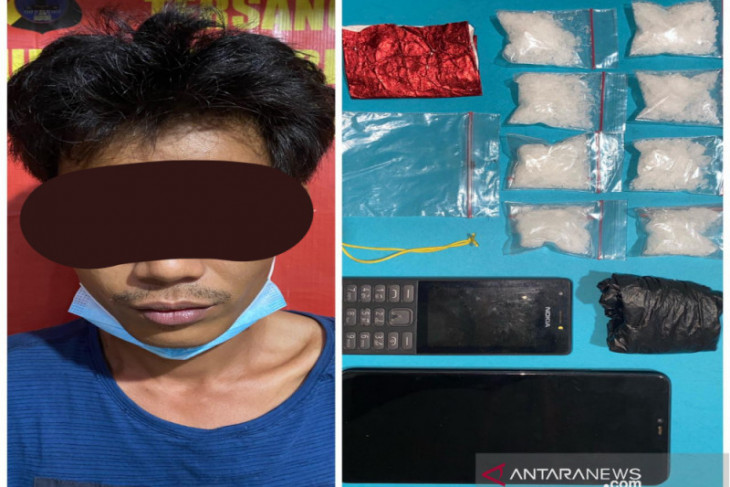 Polda Kalsel tangkap tiga pengedar narkoba jenis sabu