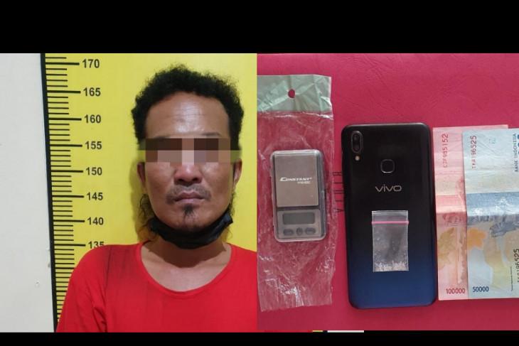 Polres Tabalong amankan tersangka penyalahgunaan narkoba