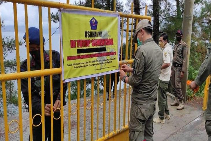 PPKM di Aceh Tengah diperpanjang, petugas razia tempat wisata