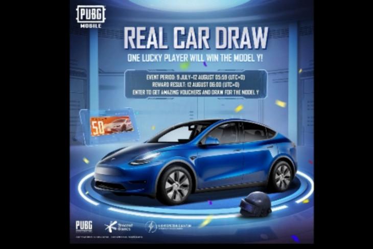 PUBG Mobile bakal realisasikan harapan penggemar untuk miliki Tesla