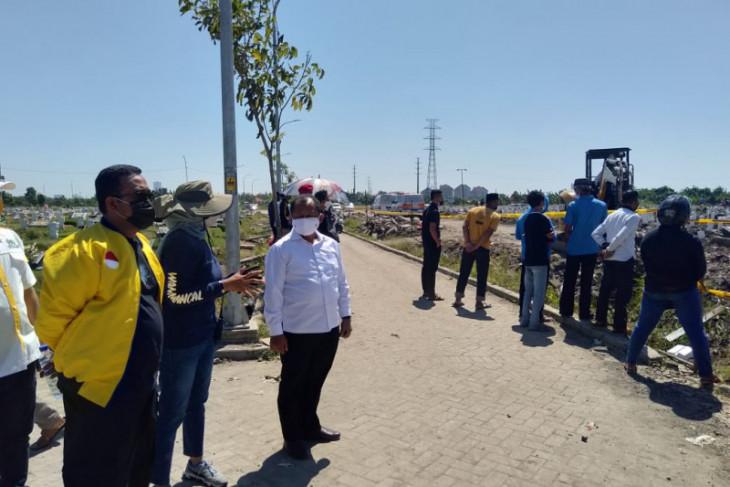 Lahan milik Pemprov Jatim di Keputih Surabaya diminta untuk pemakaman COVID-19
