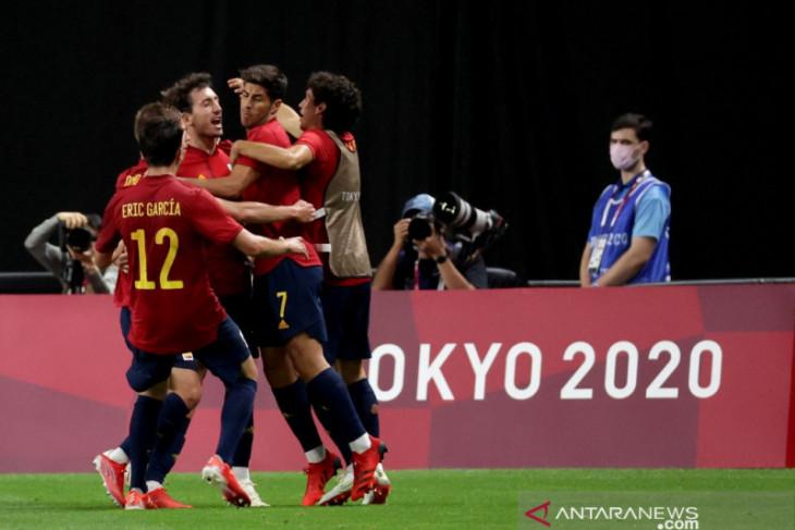 Olimpiade Tokyo, Jalan panjang Spanyol kembali cetak gol di ajang Olimpiade