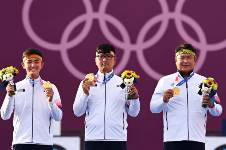 Olimpiade Tokyo, tim panahan Korea Selatan belum terkalahkan usai emas beregu putra