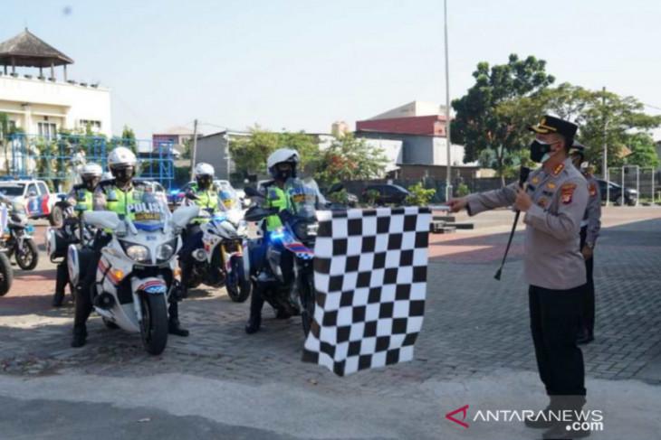 Polres Bekasi mengerahkan tim patroli vaksin