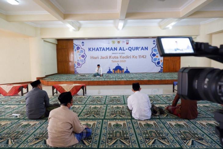 Pemkot Kediri sambut HUT ke-1142 dengan kataman Al-Quran