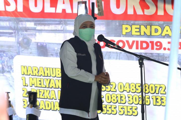 Khofifah: Tingkat keterisian tempat tidur rumah sakit di Jatim mulai menurun