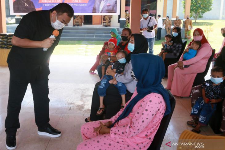 Rachmat Gobel bantu beras fortivit untuk tangani stunting di Gorontalo