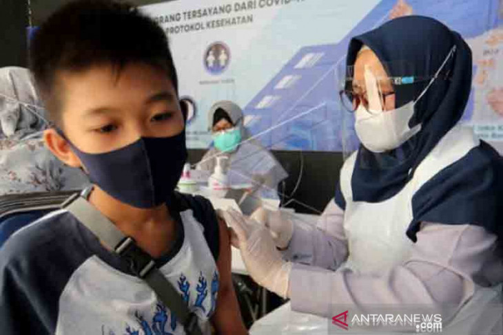 Dinkes: 5.000 anak Aceh sudah divaksin COVID-19