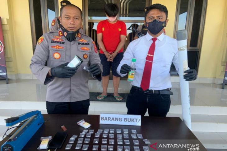 Polisi Kendari tangkap pengedar sabu jaringan Lapas