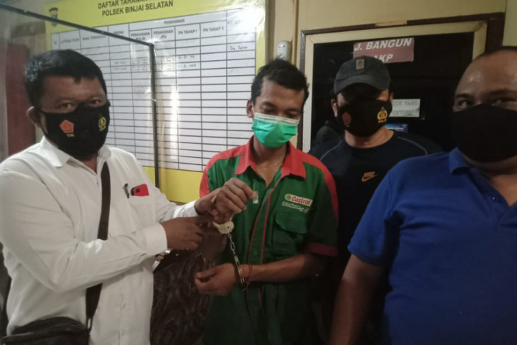 Polsek Binjai Selatan tangkap MP pemilik sabu-sabu