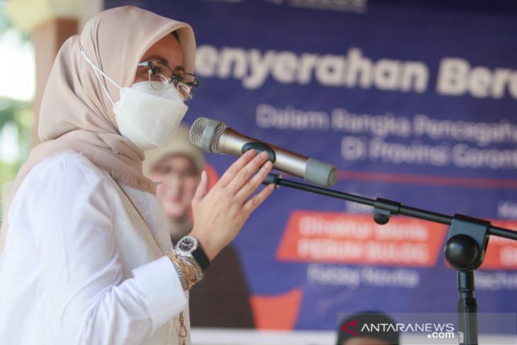 Bulog serahkan bantuan beras Fortivit cegahan stunting di Gorontalo