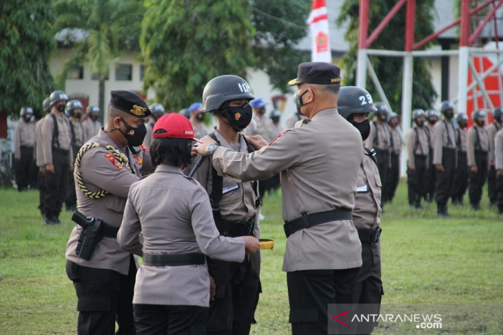 161 bintara Polri asal Papua ikut pendidikan di Maluku begini penjelasannya