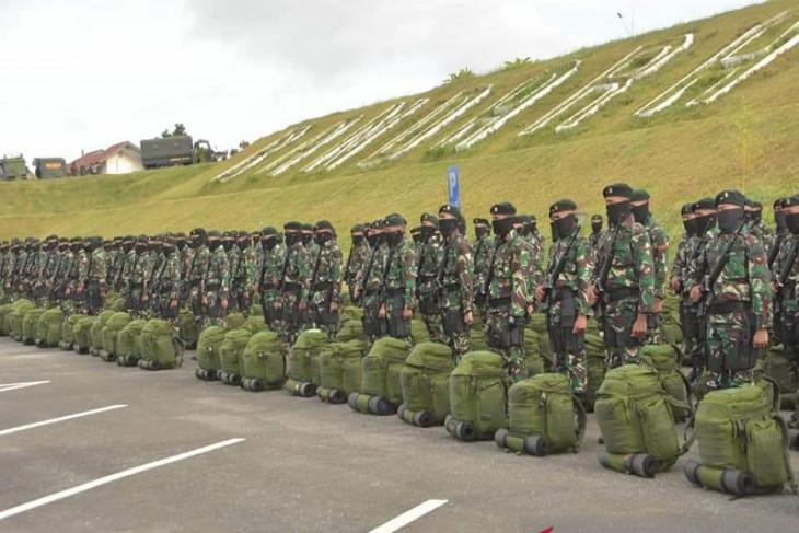 200 prajurit Bataliyon 114 Satria Musara Bener Meriah menuju Papua
