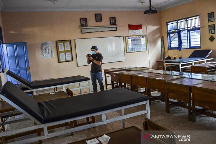 Sekolah dijadikan ruang isolasi COVID-19