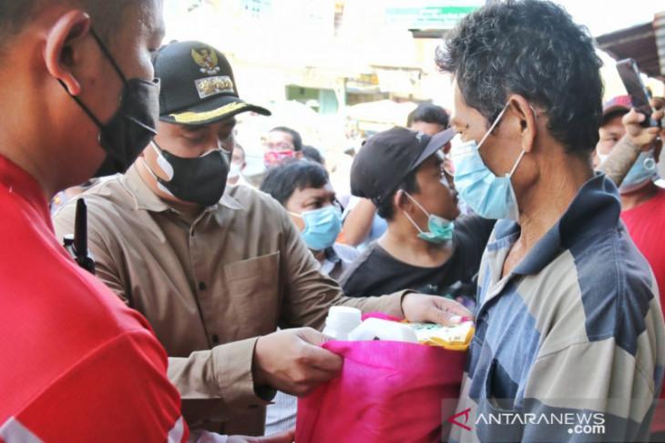 Pemkot Medan salurkan 139.000 paket bahan pokok untuk warga terdampak PPKM