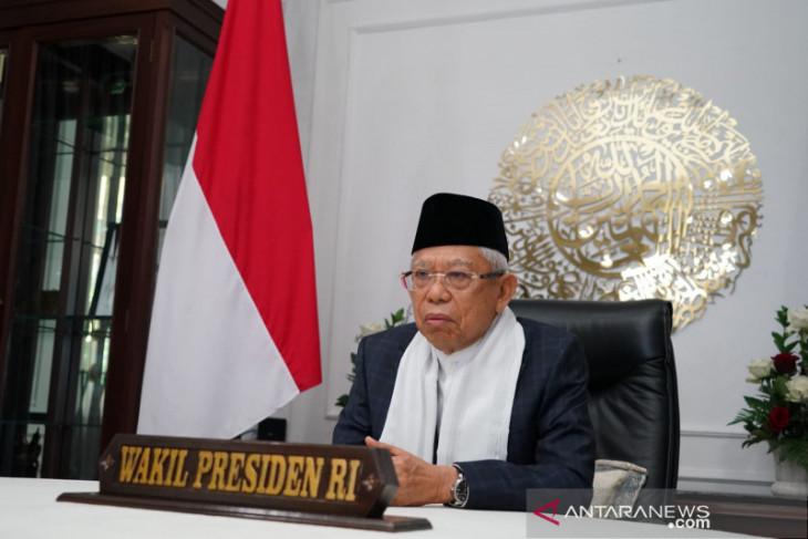 Wapres Ma'ruf Amin imbau MUI pusat dan daerah sejalan dengan pemerintah