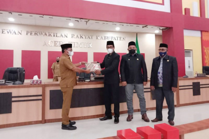 Bupati Aceh Timur sampaikan LKPJ 2020