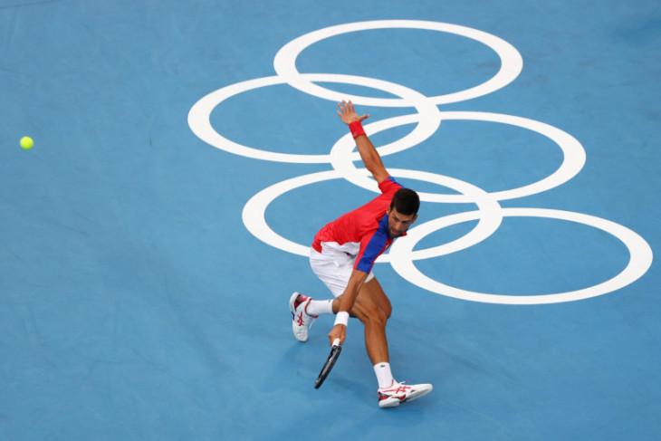 Novak Djokovic semakin dekat menuju Golden Slam