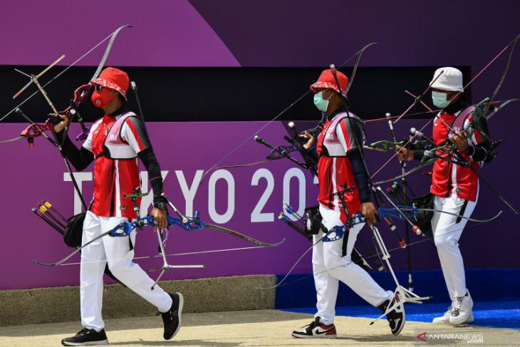 Olimpiade Tokyo, Arif Dwi Pangestu tersisih di babak eliminasi panahan
