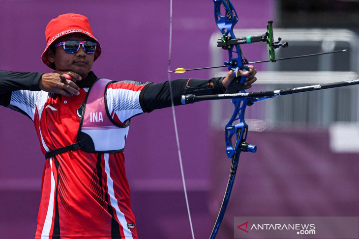 Olimpiade Tokyo, Pemanah Indonesia Riau Ega tersingkir di babak kedua