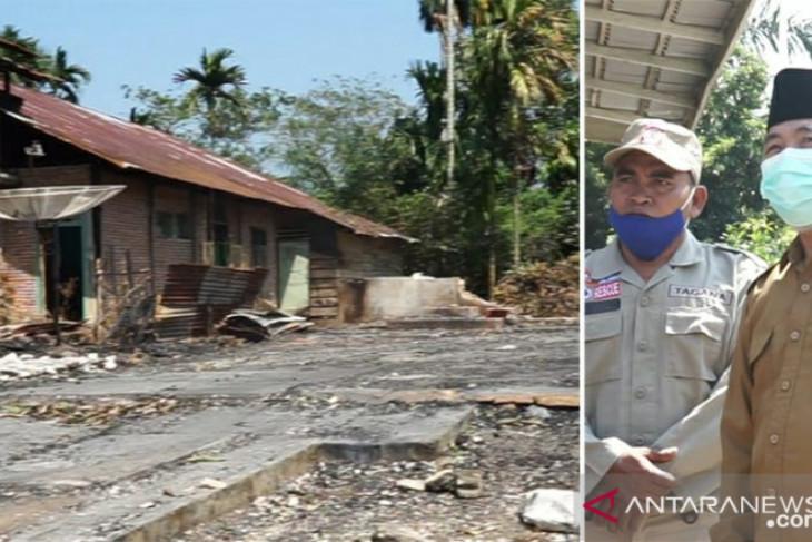 Bupati Merangin salurkan bantuan untuk korban kebakaran