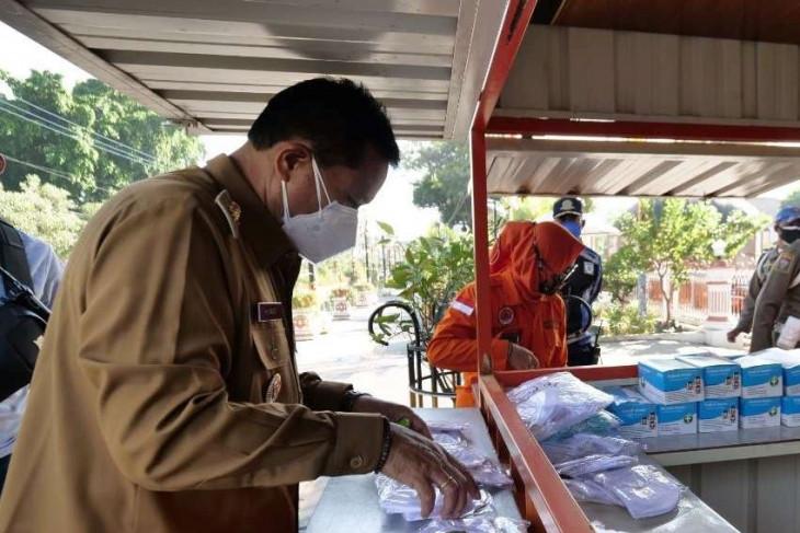 Pemkot Madiun  sediakan gerai masker gratis bagi warga