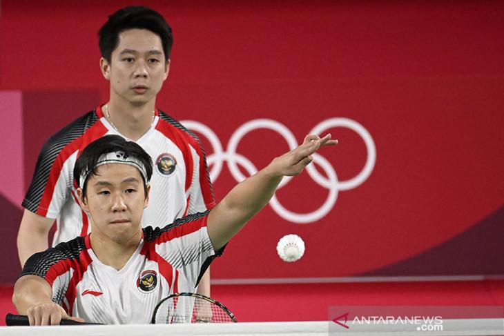 Olimpiade Tokyo: Kevin/Marcus incar medali emas