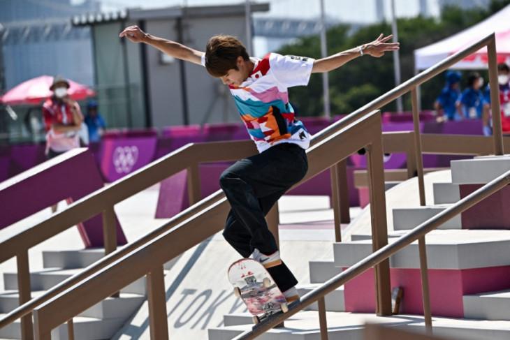 Peraih emas skateboard Horigome-Nishiya turun pada Championship Tour