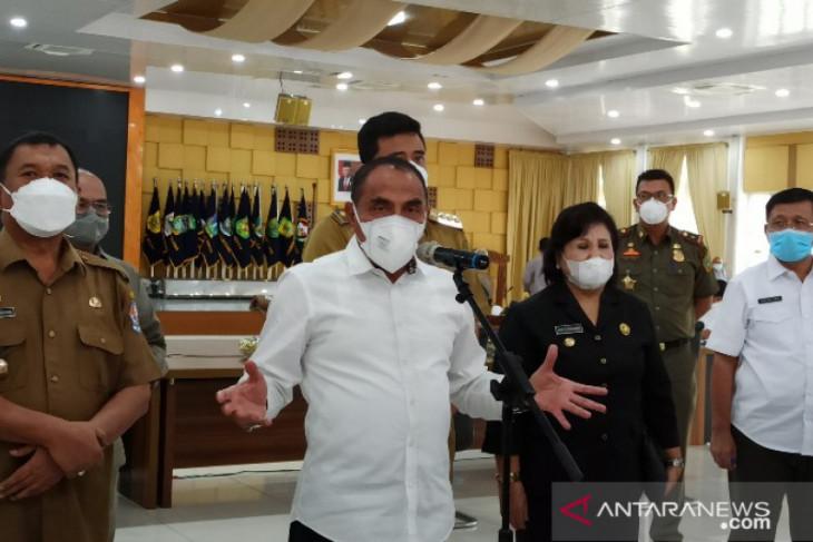 Gubernur: 22 kabupaten/kota di Sumut masuk PPKM Level 3