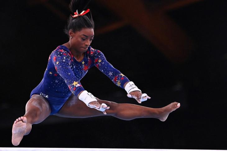 Peluang emas tim senam putri AS  tetap paling tinggi