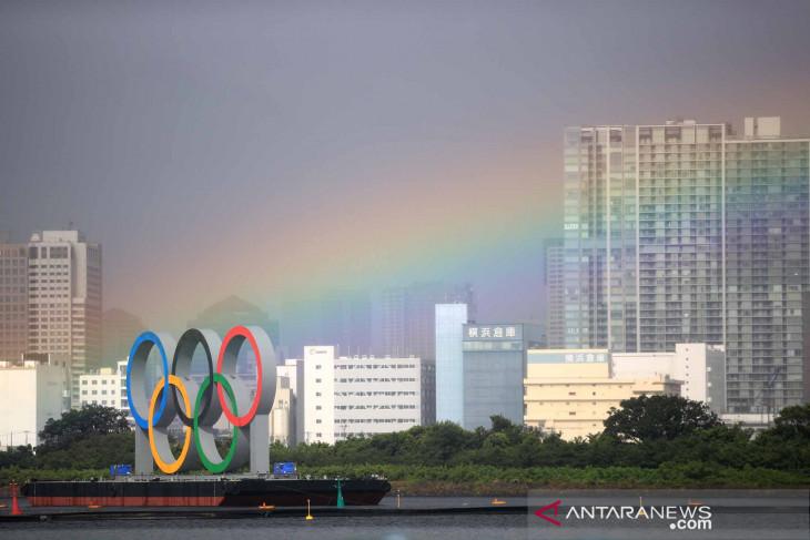 Jadwal Olimpiade Tokyo terganggu akibat badai tropis mendekati Jepang