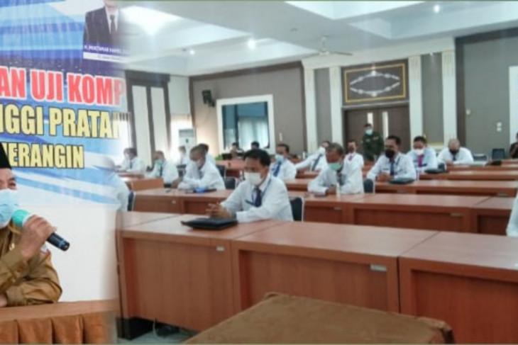 30 pejabat eselon dua di Merangin ikuti uji kompetensi