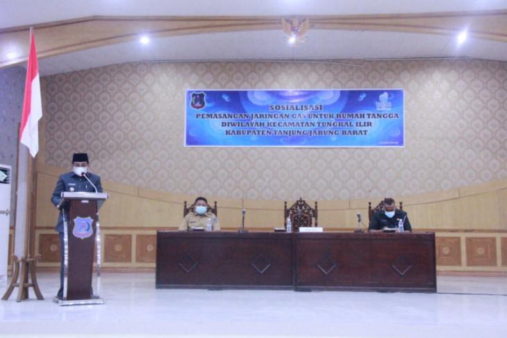 Pemkab Tanjabbar dan PT SENA siapkan 3.209 sambungan jargas di Tanjabbar