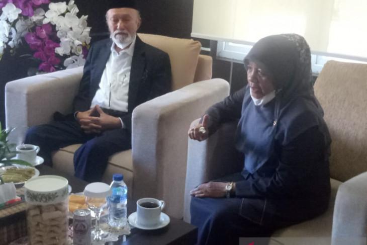 Wali Nanggroe Malik Mahmud sambangi Mahkamah Syar'iyah Aceh, ini pesannya