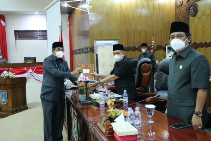 Bupati sampaikan nota pengantar Raperda RPJMD Kabupaten Tanjabbar