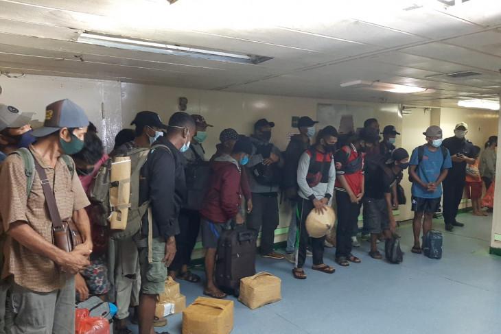 Satuan Tugas Penanganan COVID-19 Kota Sorong pulangkan 26 penumpang dari Baubau