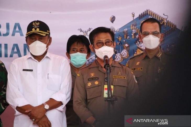 Mentan Syahrul pantau penyaluran KUR di Kabupaten Serang