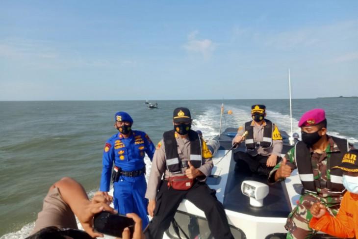 Kapolres Langkat ikut cari nelayan yang hilang di laut