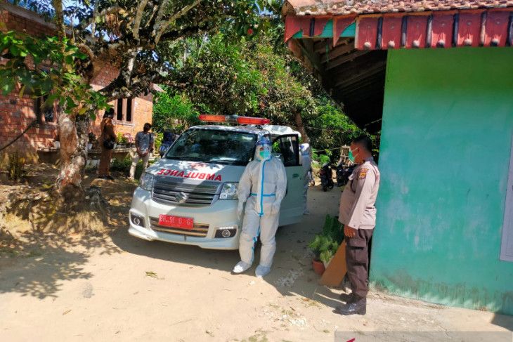 Polres Muarojambi gerak cepat evakuasi ibu hamil terpapar COVID-19 ke Rumah Sakit